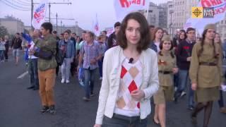 Вахта памяти москвичи зажгли свечи в память о жертвах Великой Отечественной