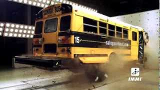 School Bus Crash Test with Backpacks