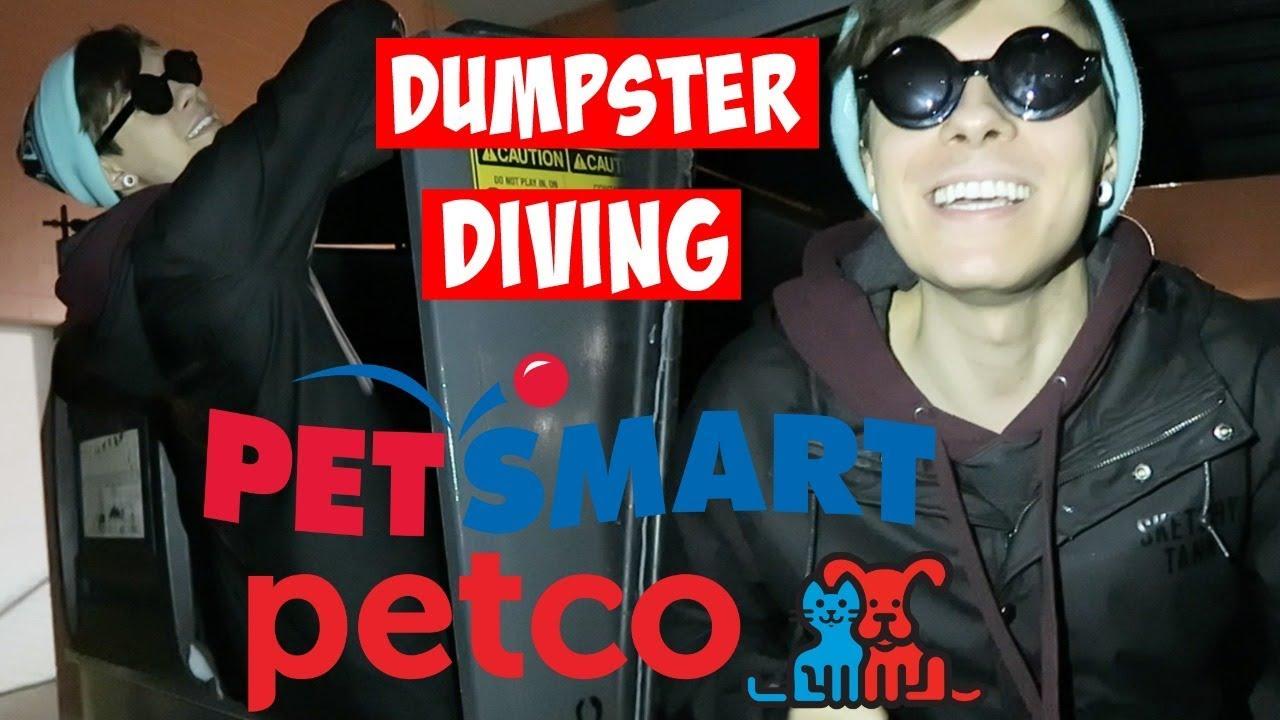 petsmart-petco-dumpster-diving-her-dog-got-herpes