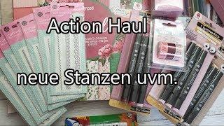 #Action Haul vom 16.01.2020 / neue Stanzen uvm.