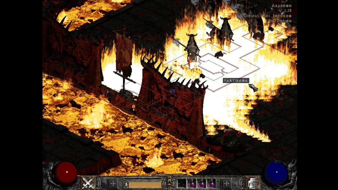 Diablo 2 - Sprite overflow