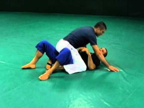 Shadow Hooks (Gracie University, Master Cycle, Blue Belt Stripe 2, Lesson 1, Slice 1 of 3)