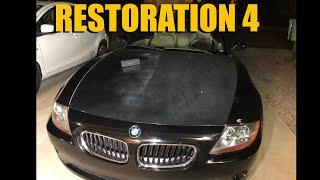 BMW Z4 Restoration 4: Faded Hood & Headlights