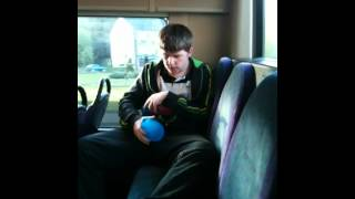 liam acting stupid on the bus