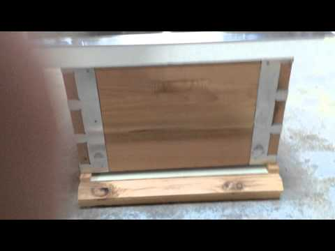 Eco Bee Box Beehive Kit Single Deep Super Close Up