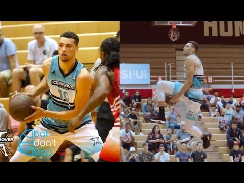 NASTY! Zach LaVine Drops 50 Points + Throws Down FILTHY Dunks At Crawsover Pro Am