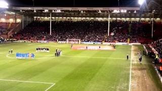 SUFC tribute to Dave Spencer aka Shred