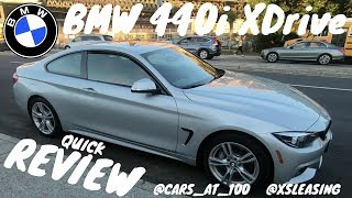 2018 BMW 440i XDRIVE M SPORT BRIEF REVIEW - A NICE GERMAN COUPE !