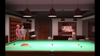 видео Обустройство бильярдной комнаты в доме. Размеры, стиль, мебель