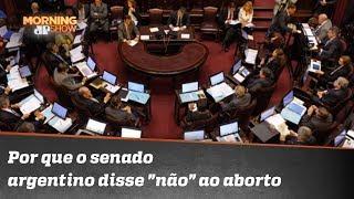 Por que o senado argentino disse