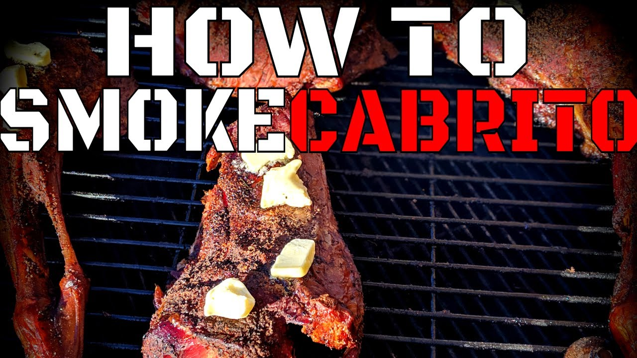 Cabrito Smoked On A Drum - Whisky And BBQ Cooking