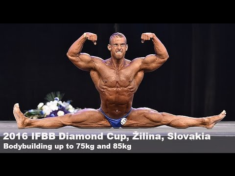 2016 IFBB Diamond Cup Zilina Bodybuilding 75kg and 85kg