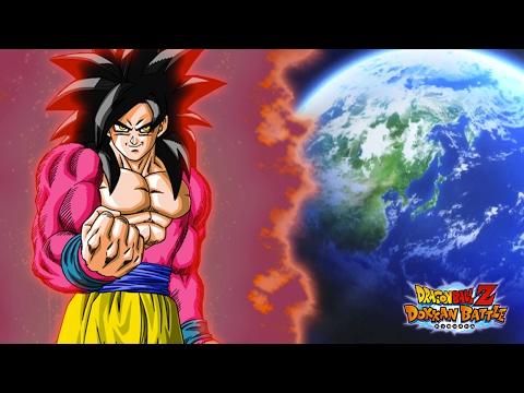 ALMOST MAX SUPER ATTACK?! Super Saiyan 4 Goku vs Boss Rush RACE! | Dragon Ball Z Dokkan Battle