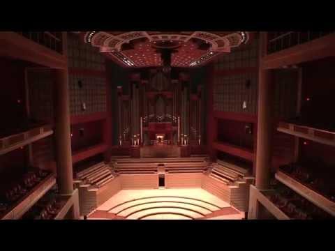 Mary Preston plays the Finale from Mendelssohn's Organ Sonata No. 1