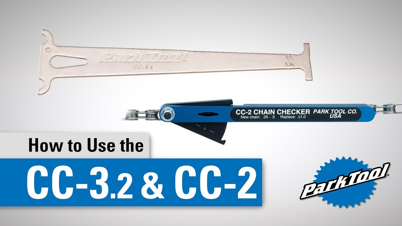 Bicycle Chain Checker Park Tool CC-2 Bike Wear Gauge Chain Stretch Indicator New