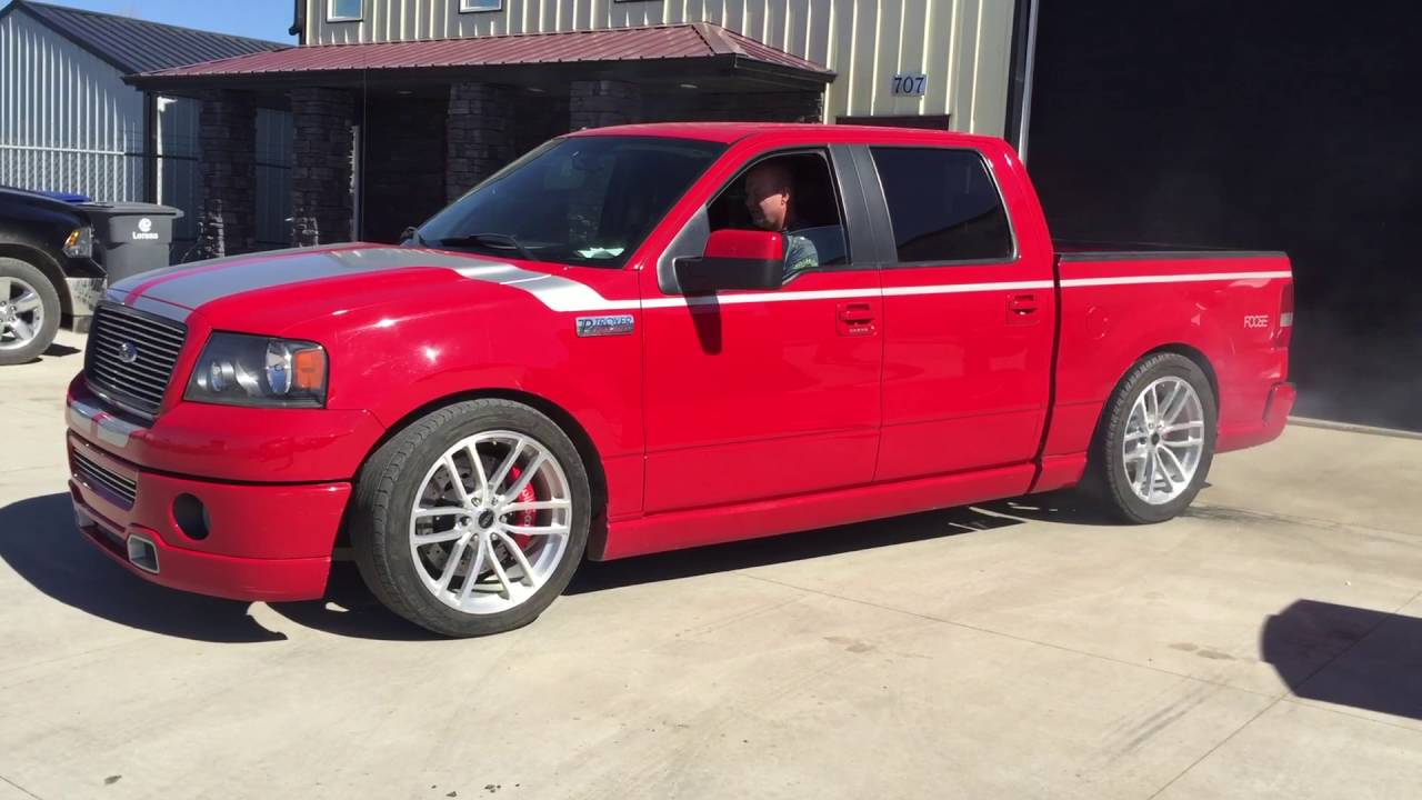 Lowered Troyer built lowered Foose F150 supercharged ...