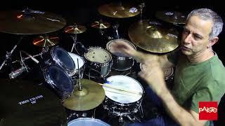 O artista Paiste Cymbals João Barone fala sobre seu setup na estrada