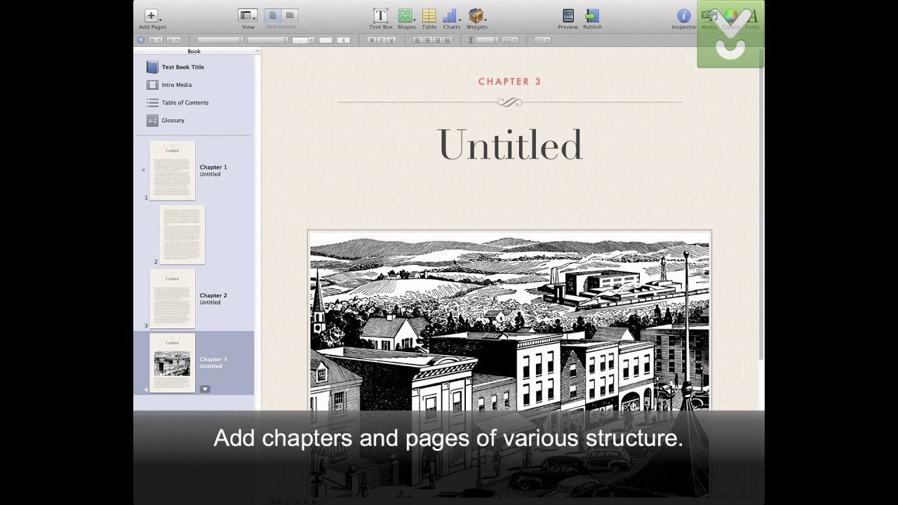Apple iBooks Author - Create and publish multitouch books for iPad -  Download Video Previews