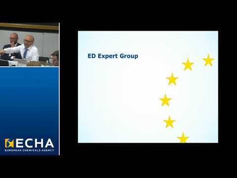 Identification of OPnEO and NPnEO as SVHC; Workings of ED Expert Group - Conor Clenaghan, ECHA