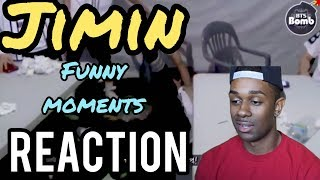 BTS JIMIN FUNNY MOMENTS REACTION