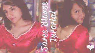 ☁ How to make a Saree Blouse (princess cut) ☁