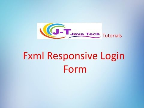 Java Fxml Login Example