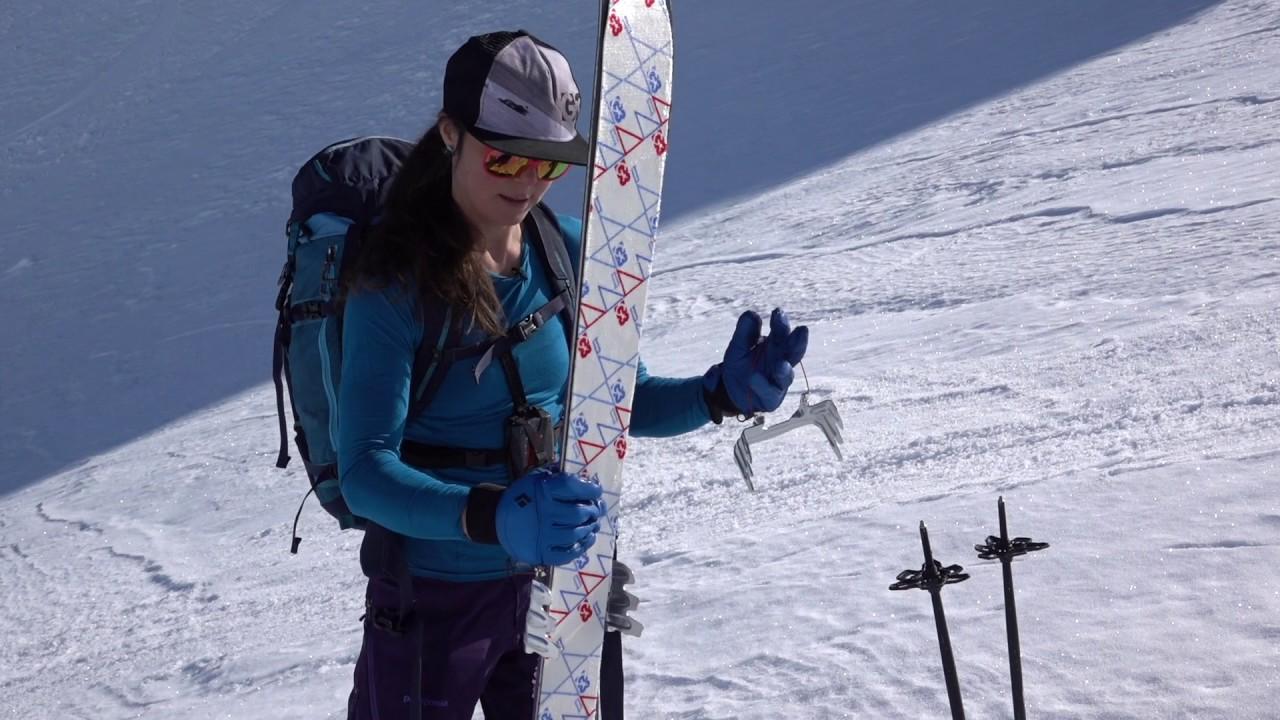 Marker Touring Crampon Ski Touring Hilfe Bindungen