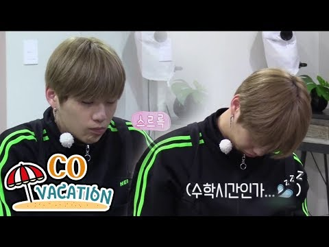[Co-Vacation: Daniel & Yong Jun Hyung] Daniel Nods In A Doze While Making Scented Candle 20170904