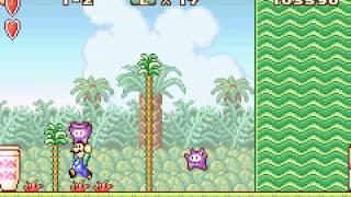 Super Mario Advance - Super Mario Advance (GBA / Game Boy Advance) - User video