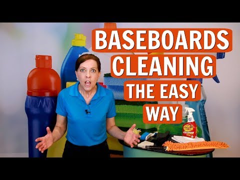 How to Clean Baseboards the Easy Way (Professional House Cleaning Tips)
