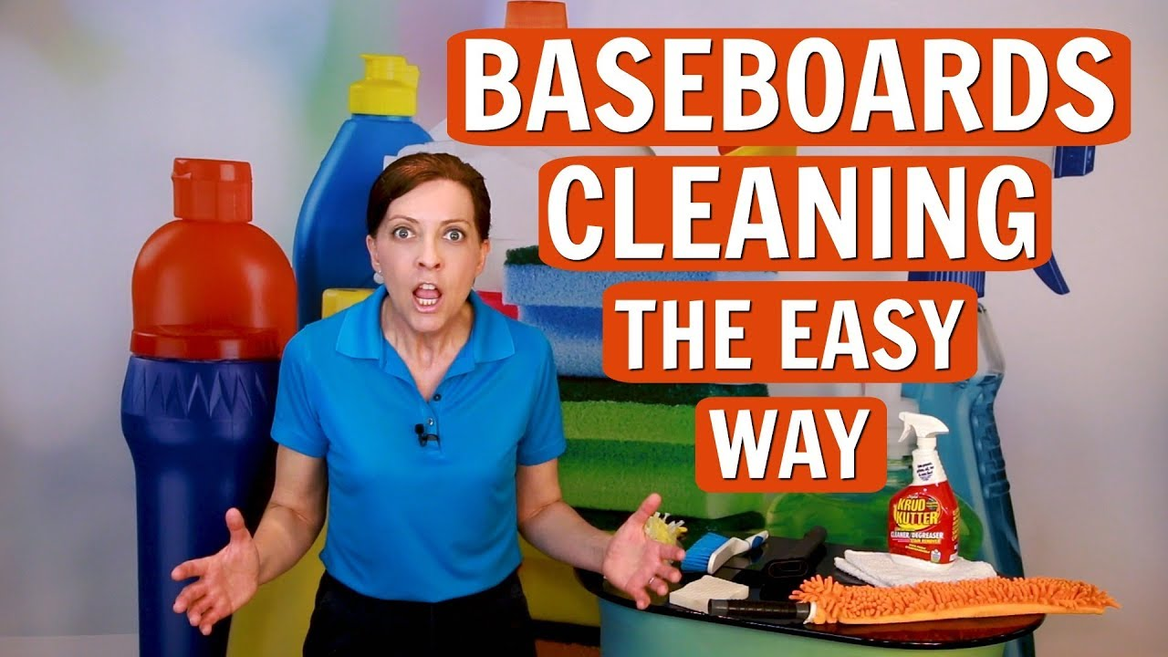 How To Clean Baseboards The Easy Way (Professional House
