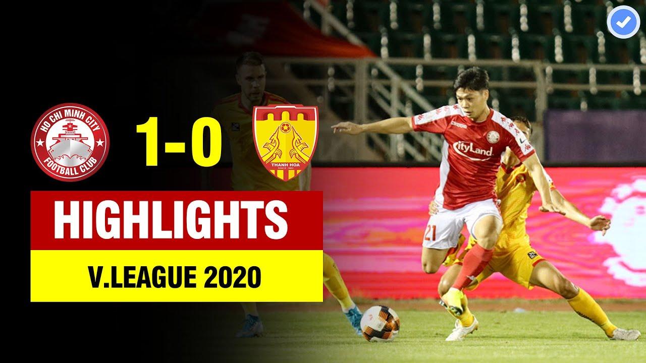 Highlights TP HCM 1-0 Thanh Hóa | Công Phượng tả xung hữu đột – Xuân Nam khiến Thanh Hóa ôm hận