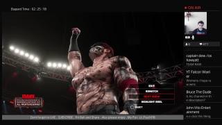 SETTING THINGS INTO STONE   ( WWE RAW Episode 9 ) WWE 2K18 Be like noone