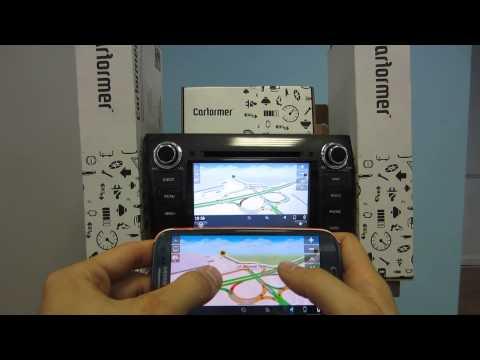 Mirrorcast для Android смартфонов. Картинка с телефона на мониторе авто! Без проводов!