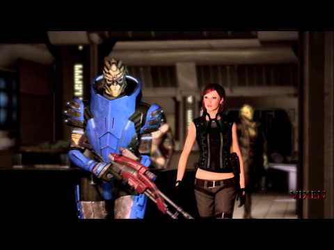 "Mass Effect 2 : ""One Big Happy Reunion"" - Tali And Thane Recruit Garrus (HD)"