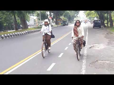 Jambore sepeda tua classic  dan sepeda ontel di Bali IVCA 2018.