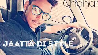 Jatta Di Style //Best edition vedio //lifestory of Rahul chahar//Rahul chaharRsc