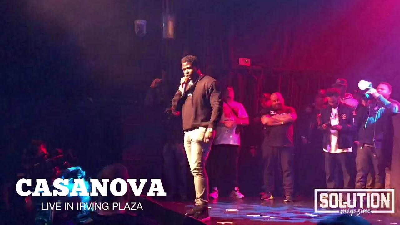 Casanova Brings out Oun-P & J.Quest at ( PRETTY LOU CONCERT SERIES ) Irving Plaza