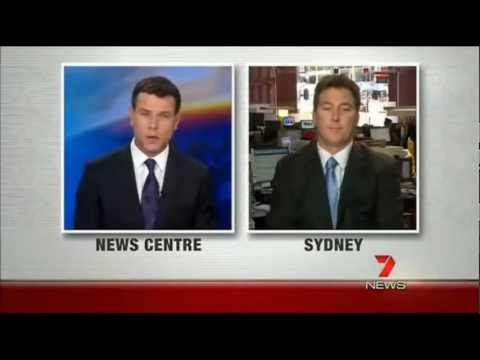 Channel 7 Interview with Prof Tom Kelly