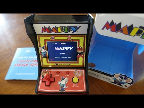 Mappy by My Arcade Mini Arcade Toy Review