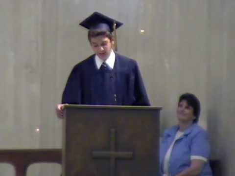 St Mary Elementary School 2008 Valedictorian Speech