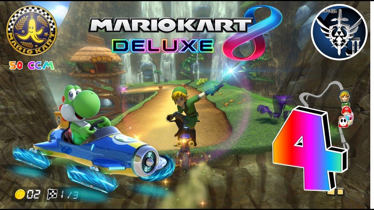 Lets Play Mario Kart 8 Deluxe 4 German Im Dschungel Youtube
