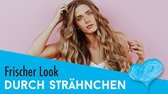 Welche Strähnchen Arten gibt es? Diese 6 Techniken veredeln Dein Haar