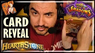 FASTEST PUZZLE BOX - KRIPP'S RISE OF SHADOWS CARD REVEAL! - Hearthstone