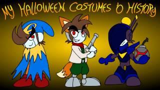 My Halloween Costumes 'O History - Kirblog 10/14/14