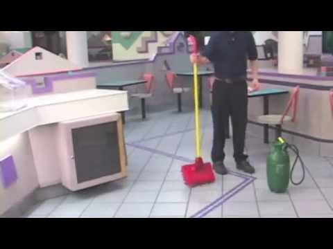 How To Make Commercial Kitchen Floors Less Slippery Youtube