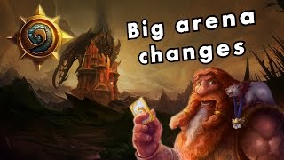 Hearthstone - Upcoming BIG Arena Changes