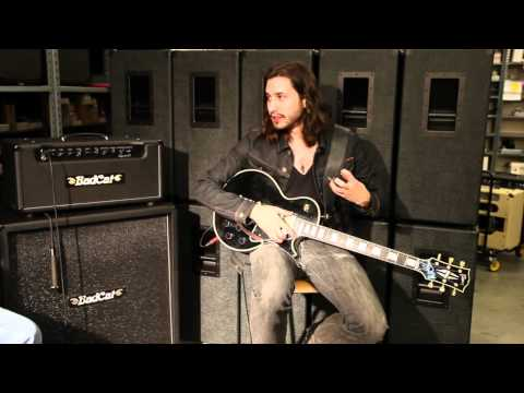 Jaco Caraco of Miley Cyrus Band plays the Bad Cat Lynx 50