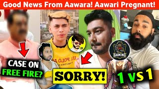 FIR against Free Fire?😱 Rocky Sorry to Fab Indro?😮 Total Gaming Vs Chapati? Good news From Aawara?😍