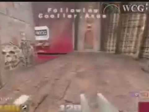 2002 GrandFinal Group A: Quake match: zero4 vs cooller